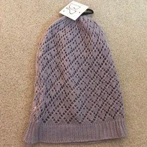 NWT Crochet Beanie